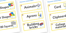 Lily Themed Editable Classroom Resource Labels