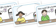 How Could I Fill a Bucket Today Posters (Editable)