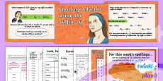PlanIt Y3 Term 1B W5: 'ly' Adverbs ( Exceptions to the Rules) Spelling Pack