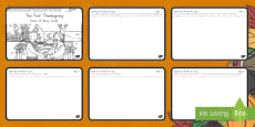The First Thanksgiving Draw It Story Cards