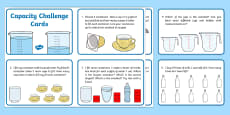 KS1 Capacity Challenge Cards