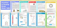 Activities to Develop Gross Motor Skills Booklets