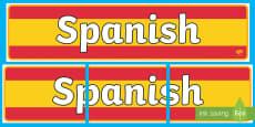 Spanish Display Banner