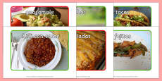Mexican Food Display Photos