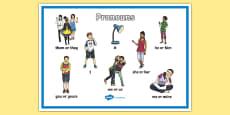 Pronouns Display Poster