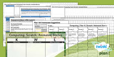 PlanIt - Computing Year 6 - Scratch Animated Stories Unit Assessment Pack