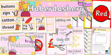 Haberdashery Role Play Pack