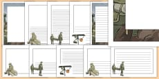 The Battle of the Somme Page Border Pack