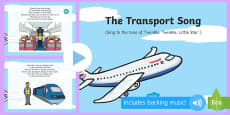 The Transport Song PowerPoint
