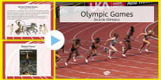 Olympics Information PowerPoint Romanian Translation
