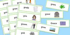 GR Word Cards