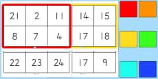 Australia - Number Bingo To 30