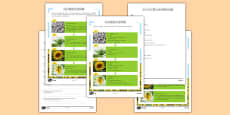 Sunflower Plant Life Cycle Differentiated Reading Comprehension Activity Mandarin Chinese