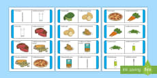 Am Dinnéir Loop Cards Gaeilge