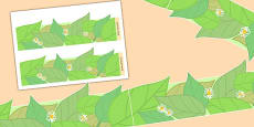 Leaf Display Borders