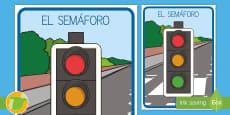 Póster: El semáforo