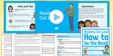 Reading Out Loud Lesson Pack