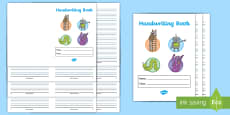 * NEW * Twinkl Handwriting Lined Booklet