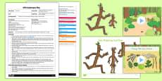 EYFS Measuring Stick Men Adult Input Plan