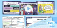 PlanIt Y3 Space: To Support Teaching on The King of Space Lesson Pack Information Texts (4)