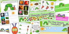 Childminders Pack to Support Teaching on The Very Hungry Caterpillar