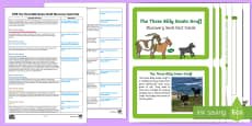 EYFS The Three Billy Goats Gruff Discovery Sack Plan and Resource Pack