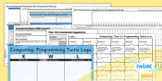 PlanIt - Computing Year 4 - Programming Turtle Logo Unit Assessment Pack