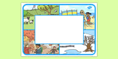 Seasons Themed Editable Class Welcome Signs