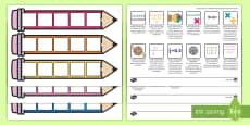 Year 4 Maths Pencil Targets Assessment Tracker