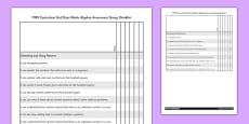 1999 Curriculum 2nd Class Maths Algebra Assessment Targets Group Checklist