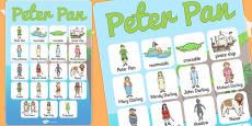 Peter Pan Vocabulary Poster