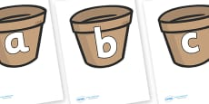 Phoneme Set on Flower Pots