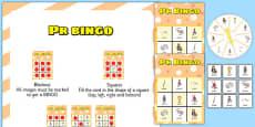 PR Spinner Bingo