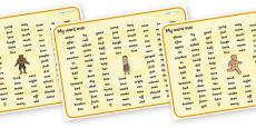 Traditional Tales Themed KS1 Word Mat