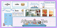 Afternoon Tea Role Play Pack