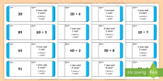 Place Value Loop Cards 2 Digits English/Italian