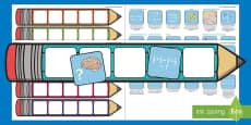 Year 5 Maths Pencil Targets Assessment Tracker