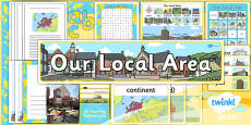 Geography: Our Local Area Year 1 Unit Additional Resources