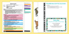 EYFS The Three Billy Goats Gruff Trip Trap Activity  Busy Bag Plan and Resource Pack
