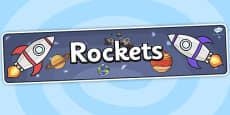 Rockets Topic Display Banner