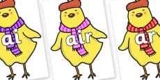 Phase 3 Phonemes on Chicken Licken