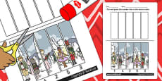 The Nutcracker Number Sequencing Puzzle