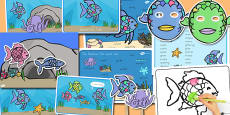Australia - Story Sack to Support Teaching on The Rainbow Fish