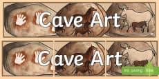 Cave Art Display Banner