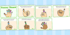 Tommy Thumb Story Sequencing Cards