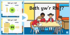 * NEW * Pŵerbwynt Gwerth Lle Taflenni Gweithgaredd