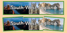 South West England Display Banner
