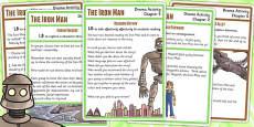 The Iron Man Drama Activity Pack