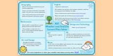 Weather and Seasons Lesson Plan Ideas KS1
