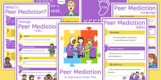 Peer Mediation Poster Pack